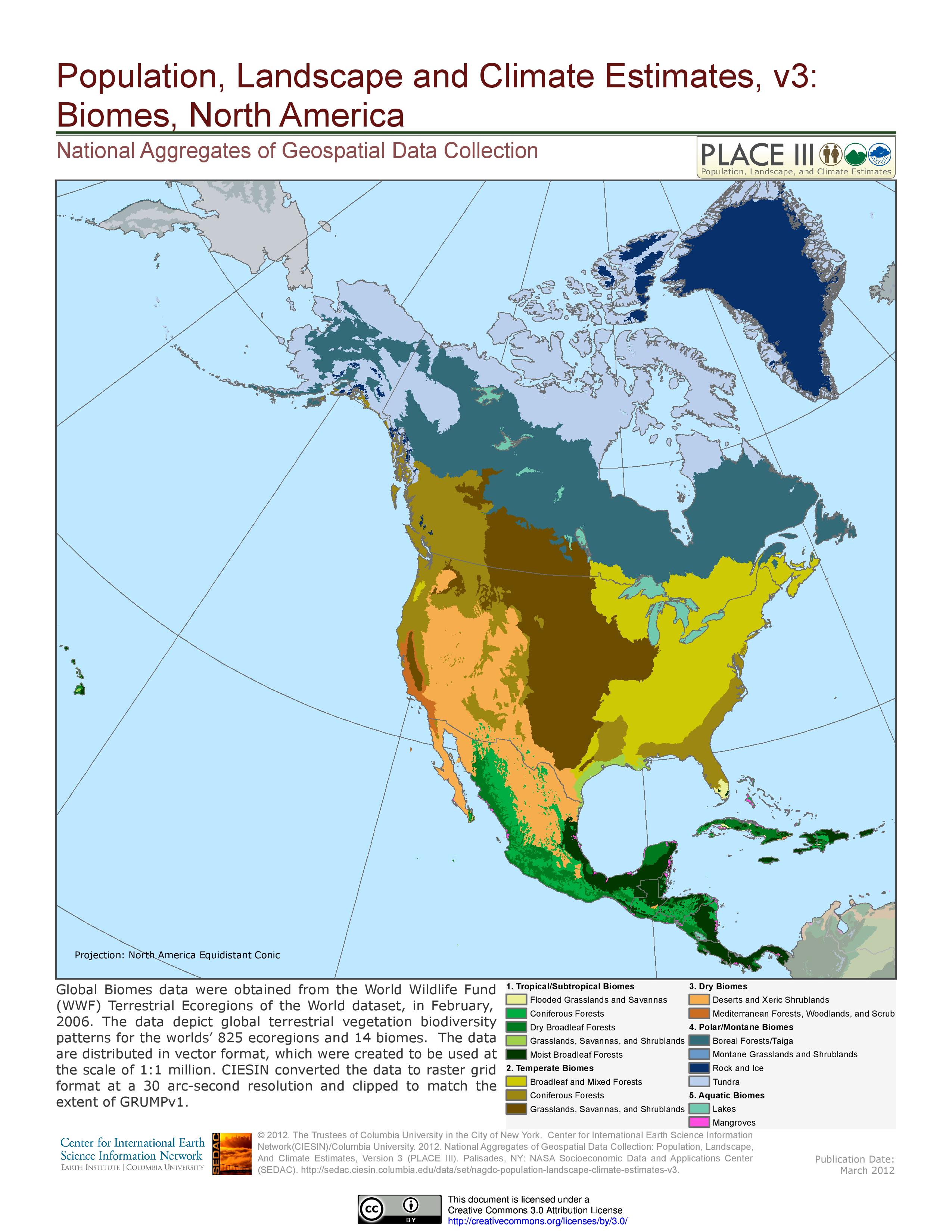 Biomes Of North America Map.Biomes Of North America Maps Biomes America Map