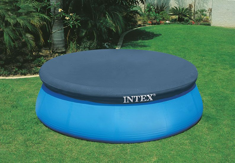 8´ Easy Set Pool Cover - Pool Accessories - Above Ground Pools - Store - Intex