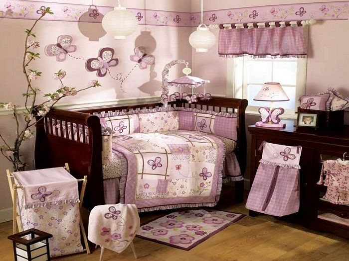 Traditional Butterlies Baby Girl Nursery Themes Ideas My Baby Girl