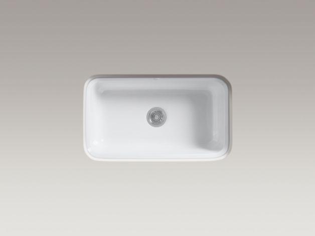 Kohler K 5832 5u Bakersfield Under Mount Kitchen Sink With