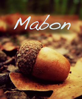 The Wiccan Sabbat of Mabon designates the beginning of Fall, when the day and night are of equal length and light and dark are balanced.  It marks the descent of the Goddess into the underworld. They celebrate Mabon with foods that honor the earth and harvest -- breads and grains, autumn veggies like squash and onions, fruits, and wine.