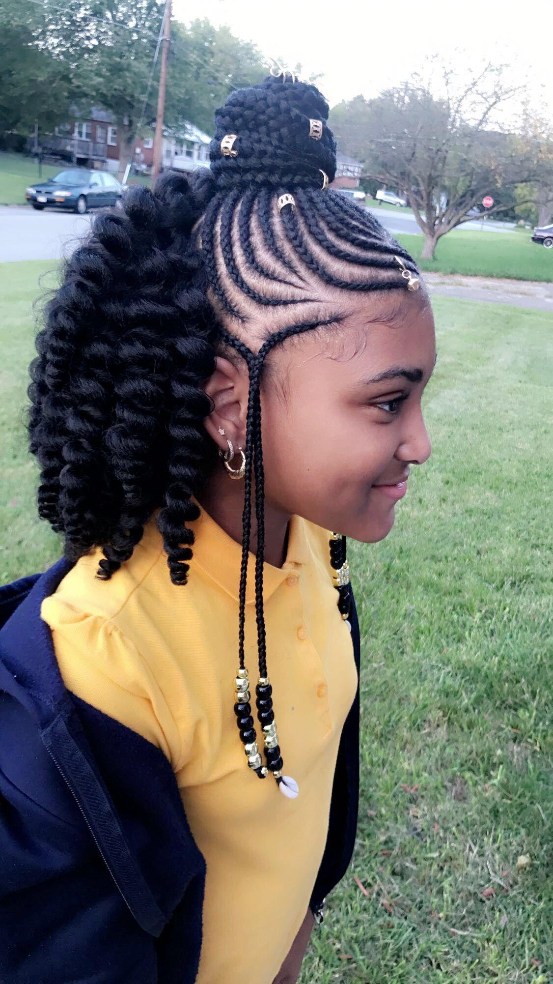 Latest Awesome Ghana Braids Hairstyles Medium Hair Styles Kids
