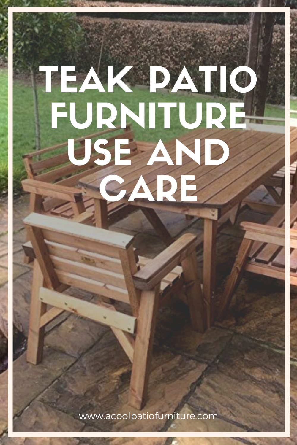 Teak Patio Furniture Use And Care This Wood Which Grows In Burma Indonesia And Other Exotic Locations Is Extremely Durable