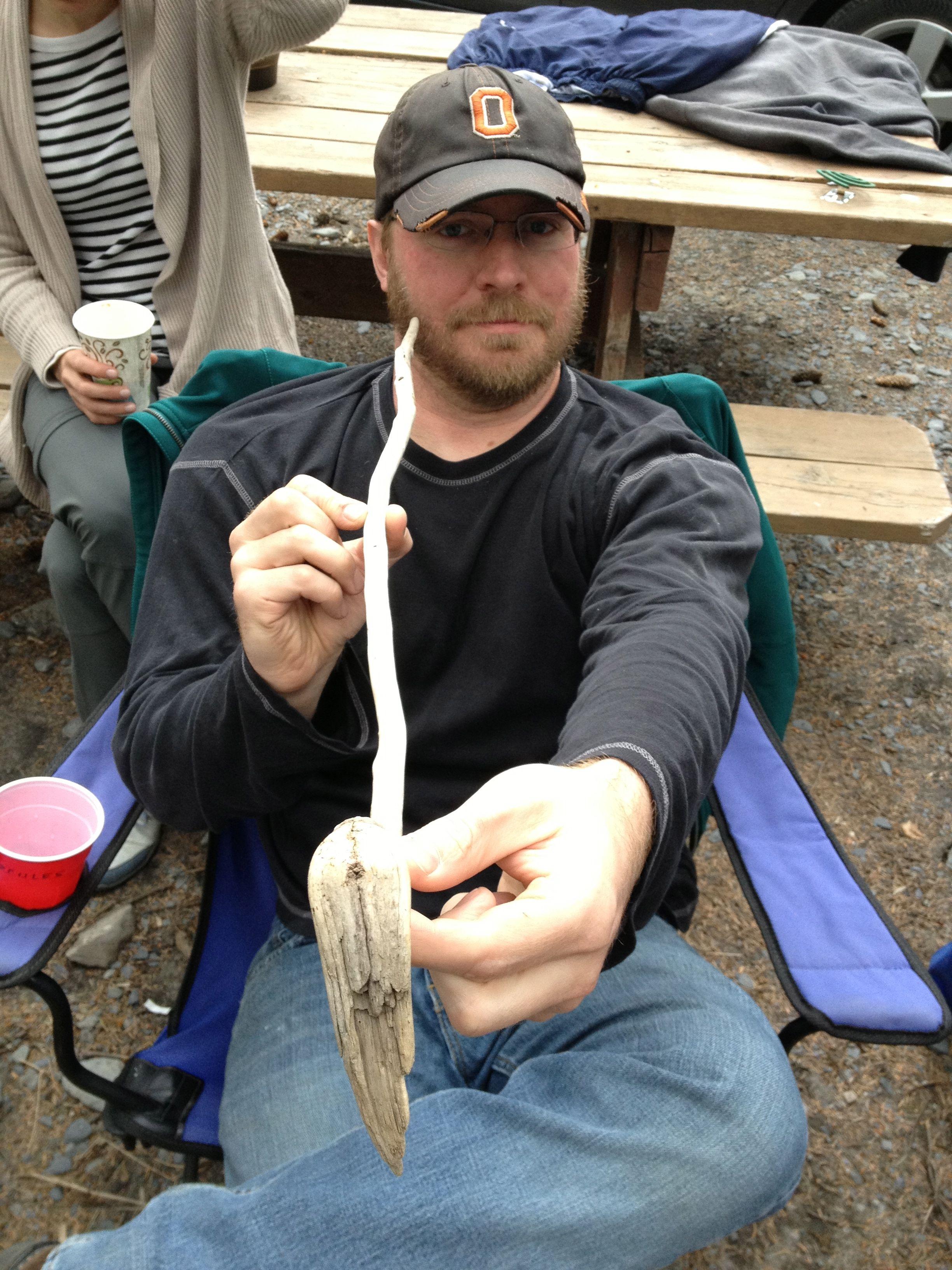 Eric with Le Genuine Alaskan Dancing Snake 2