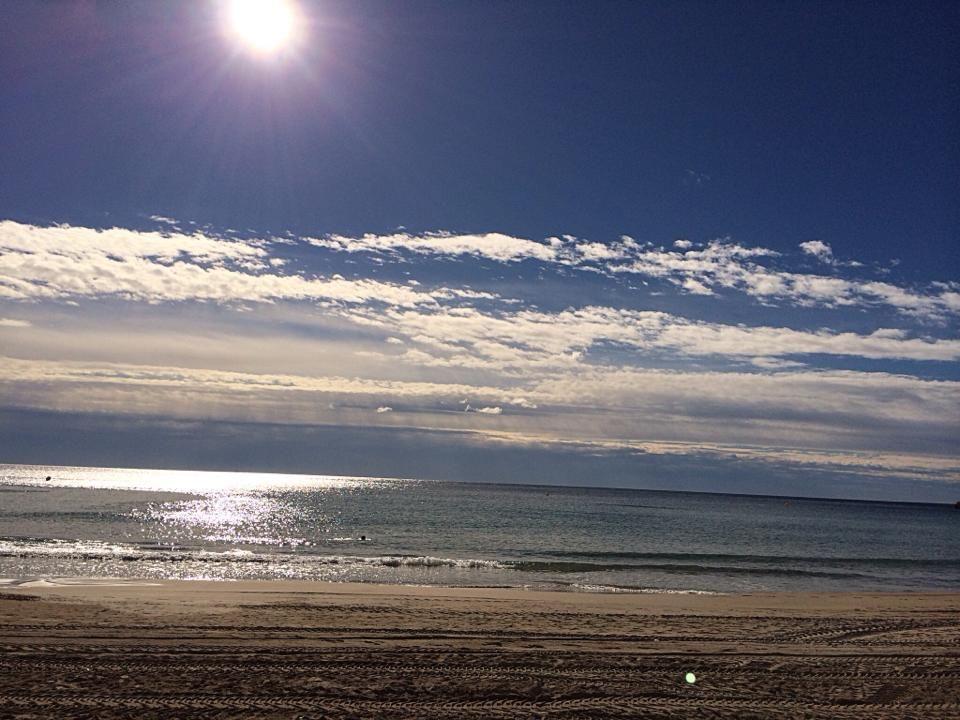 Playa Cala de Finestrat. 15 de Noviembre.