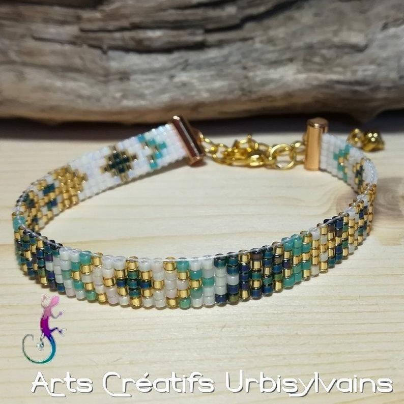 miyuki bracelet native american bracelet native jewelry Woven bracelets