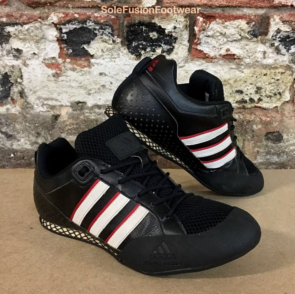 79aa0b819 adidas Mens Urban Climbing Trainers Black/Red size 7.5 Rare Sneakers US 8  41 1