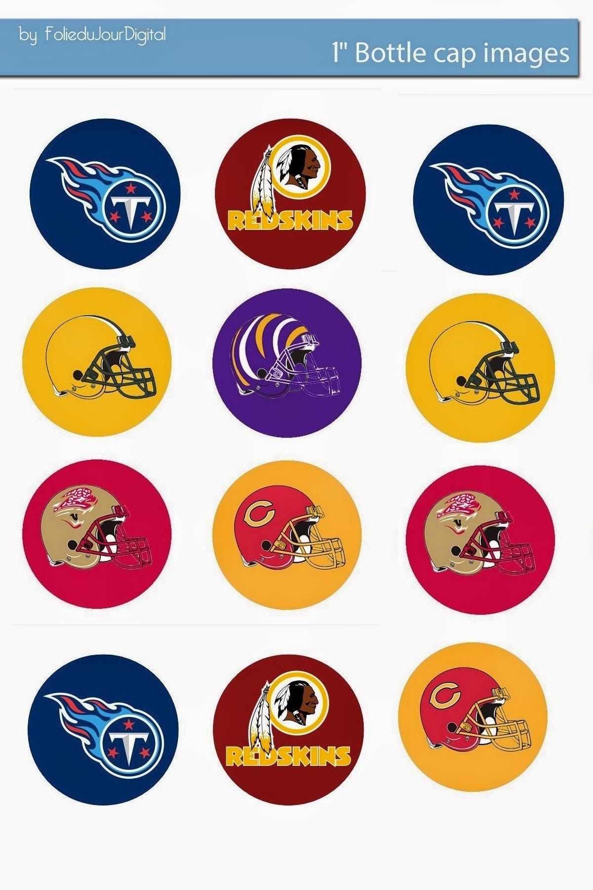 Free Bottle Cap Images All National League Football Teams Free 1 Inch Digital Bottle Cap Images Nlf Bottle Cap Images Bottle Cap Bottle Cap Crafts