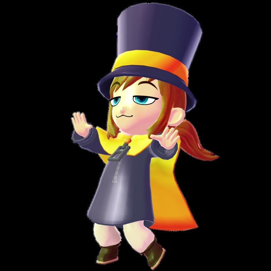 Hat Kid Render 2 By Vexikku On Deviantart Mario Characters Vault Boy Character