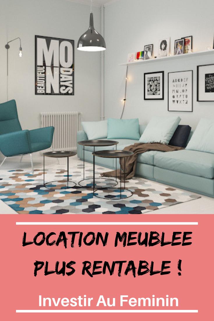investir immobilier locatif meublé