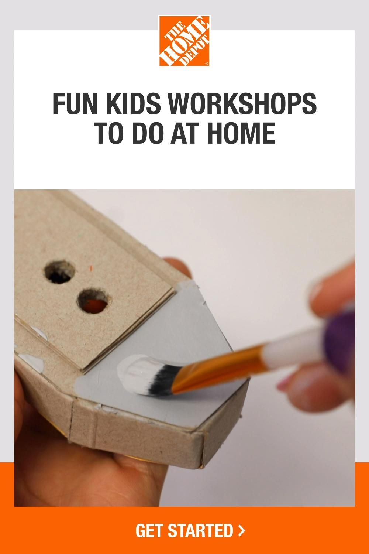 New Kit Home Depot Kids Workshop BATTLESHIP Set W// Decals /& Pin NOV 2020
