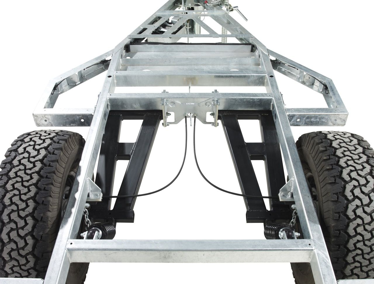 Chaser Adventure Trailer Chassis Suspension Overview