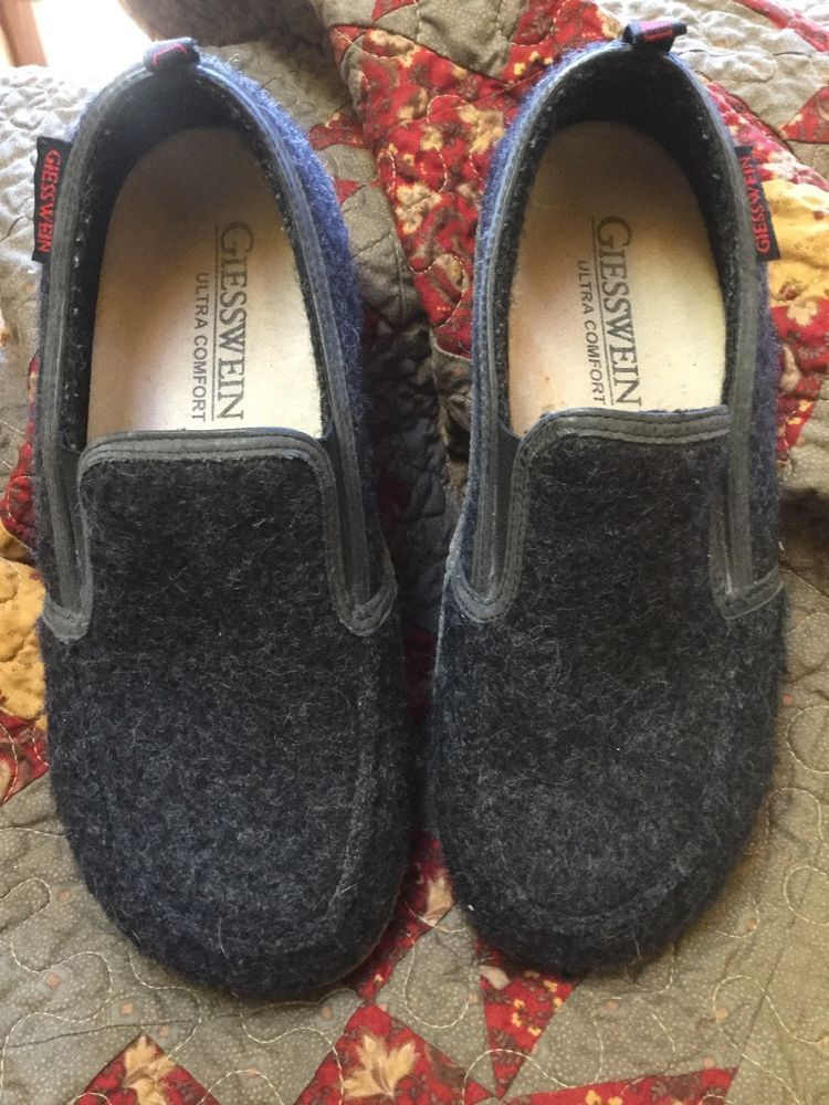 f6358c910b080 Giesswein Innsbruck Unisex Slippers in Charcoal sz 39 (W8)  fashion   clothing  shoes  accessories  unisexclothingshoesaccs  unisexadultshoes ( ebay link)