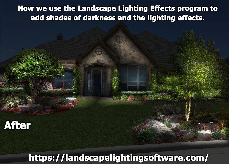 Landscape Lighting Effects Vista Outdoor Lighting Vista