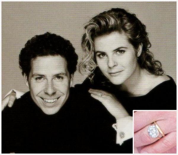 The Royal Order Of Sartorial Splendor Flashback Friday British Engagement Rings Part Princess Margarets Son David Gave Serena Stanhope A Diamond Ring