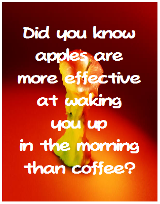 coffee drinker: who told you that!?