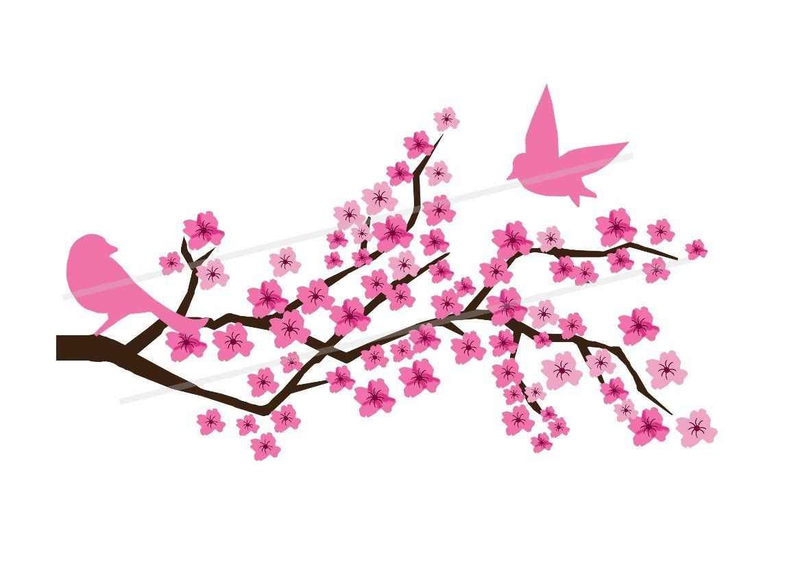 Japanese Cherry Blossom Tree Painting Clipart Free Clip Art Images Cherry Blossom Clip Art Cherry Blossom Painting Cherry Blossom Tree