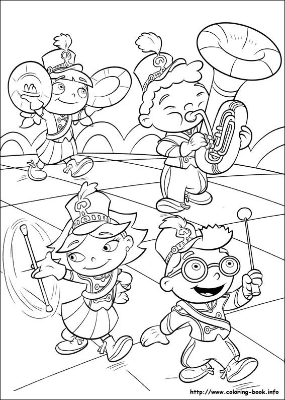 Little Einsteins coloring picture | coloring pages | Pinterest ...