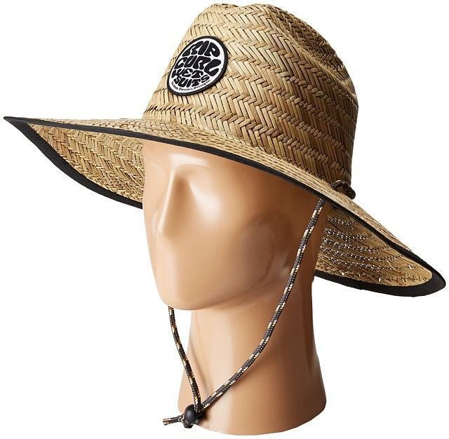 85b3b515edc76e Rip Curl Baywatch Straw Hat Traditional Hats | Products | Hats, Rip ...