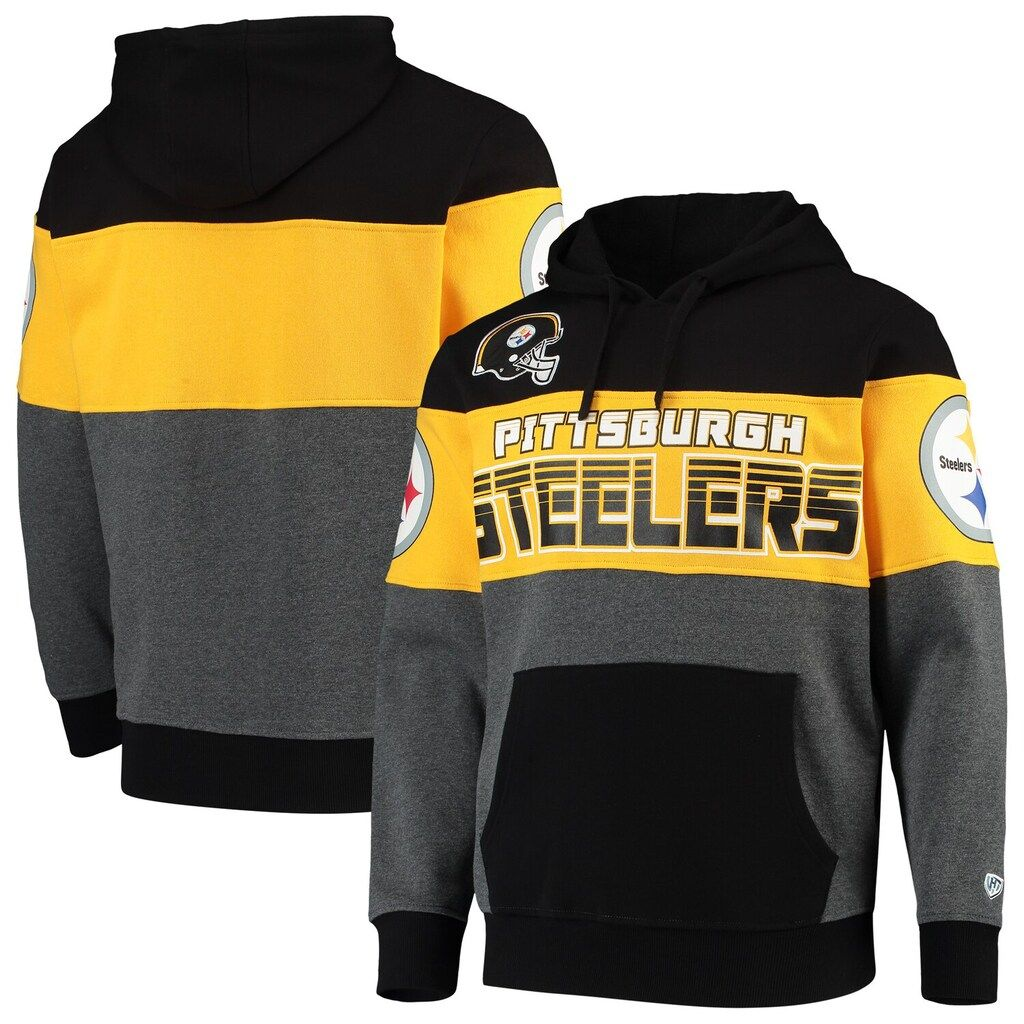 Men's GIII Sports by Carl Banks Black Pittsburgh Steelers