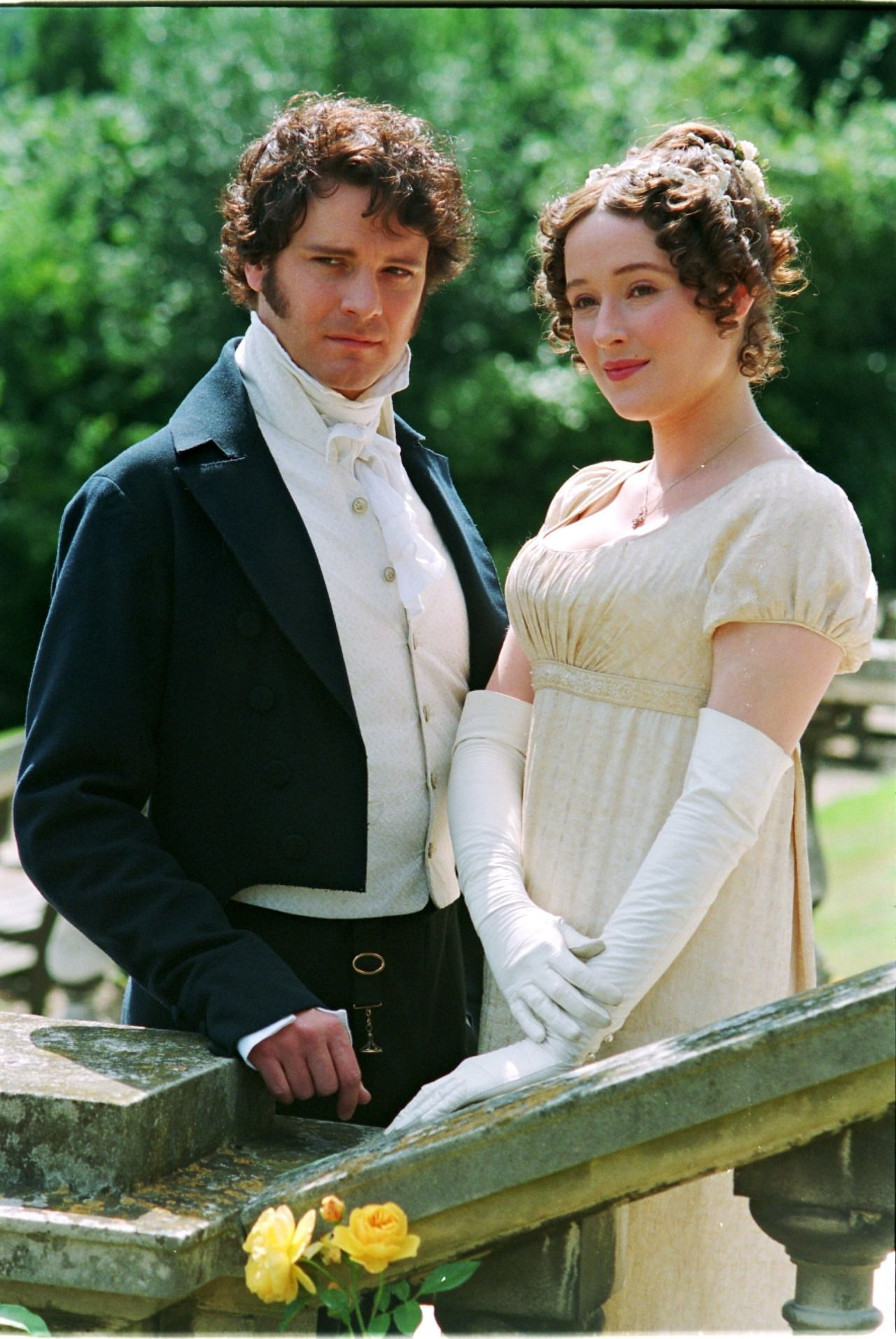 Colin Firth & Jennifer Ehle in Pride and Prejudice (1995 ...