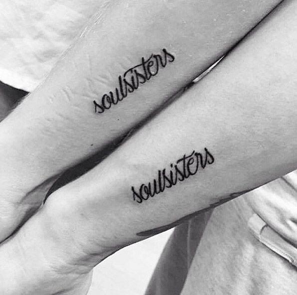 60 Amazing Best Friend Tattoos for BFFs   Soul sister tattoos ...