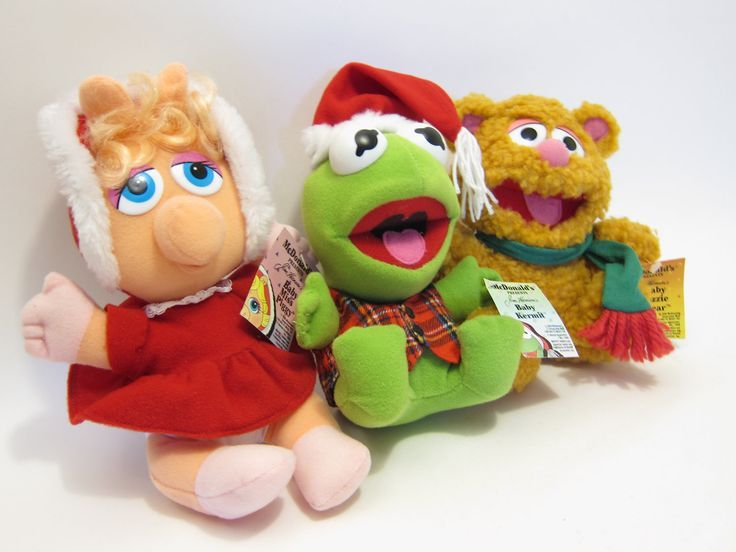 Muppet Baby stuffed animals from McDonalds. I had all of these ...