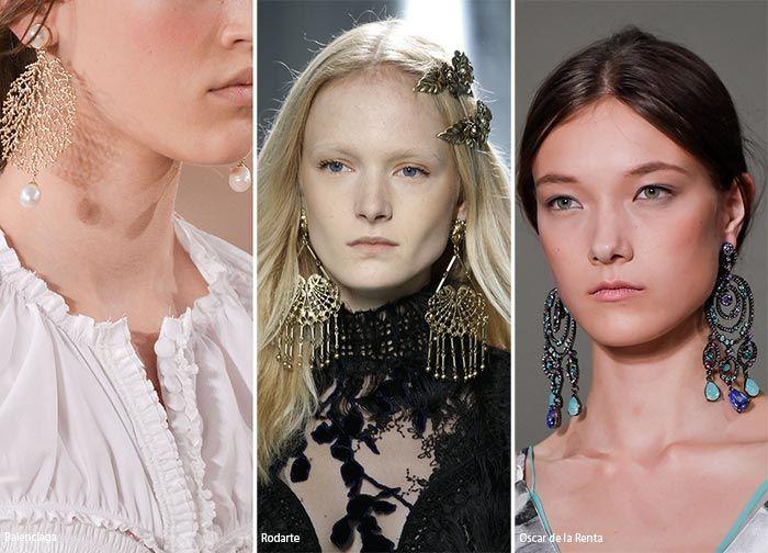 summer 2016 accessory trends chandelier earrings