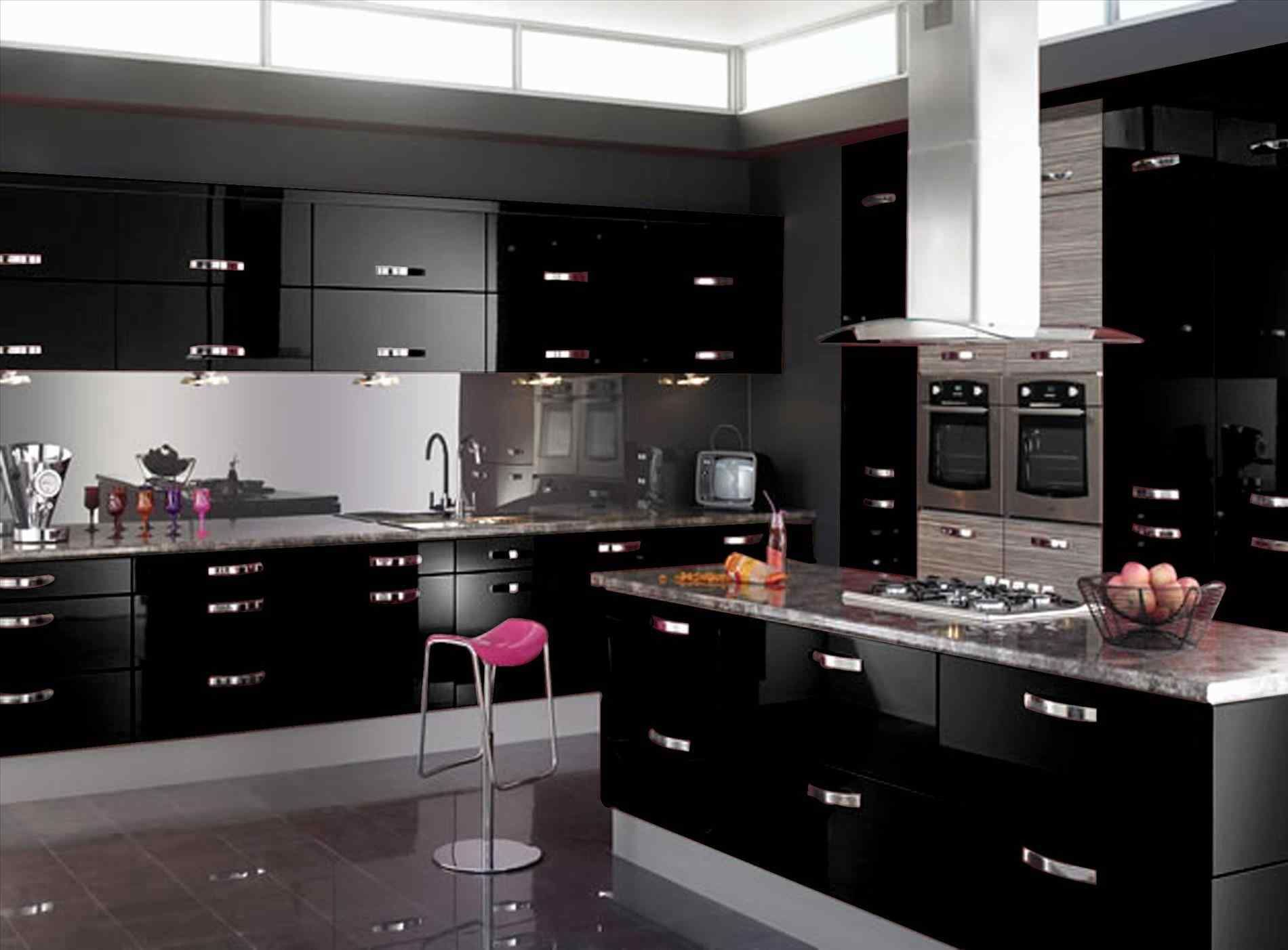 Awesome 13 Black Shiny Kitchen Cabinets Ideas For Stunning Kitchen Breakpr Cozinhas Cozinha