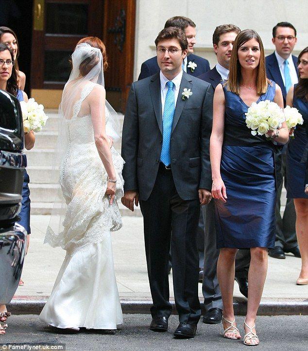 Red Carpet Wedding: Ellie Kemper and Michael Koman ~ Red ...