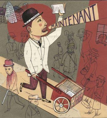 Arthur Cravan - Avant le Kindle (Drawing by Renaud Perrin)