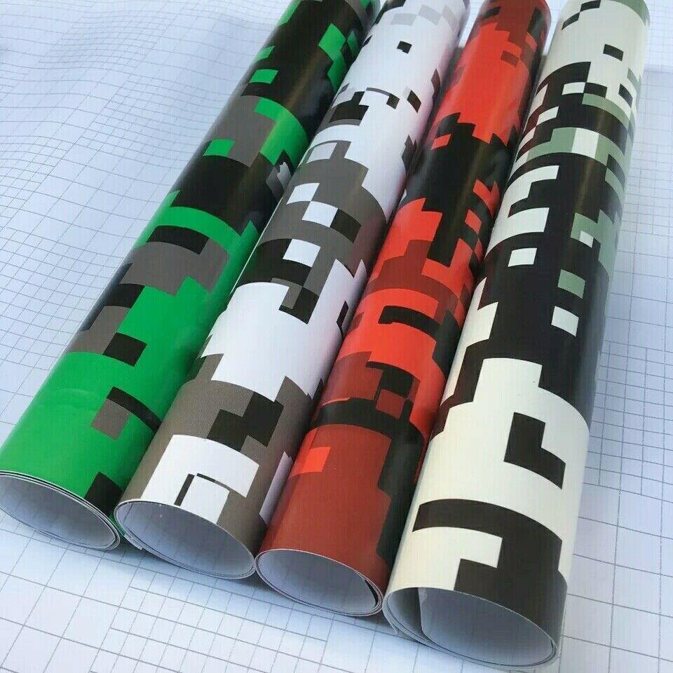 Camo vinyl wrap car stic camouflage vinyle et camo