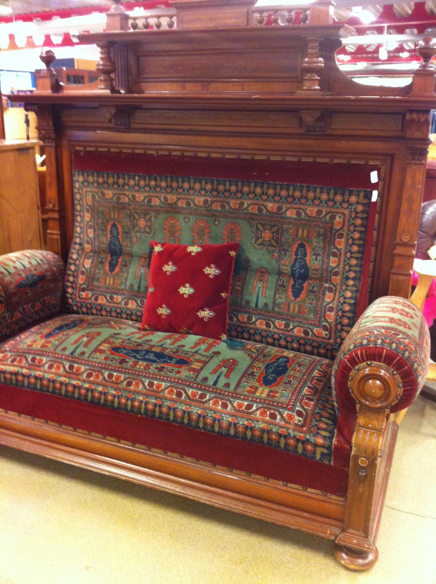 19th century mixed styles sofa for sale somewhere near me
