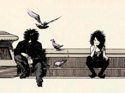 Dream and Death of The Endless -  The Sandman by Neil Gaiman