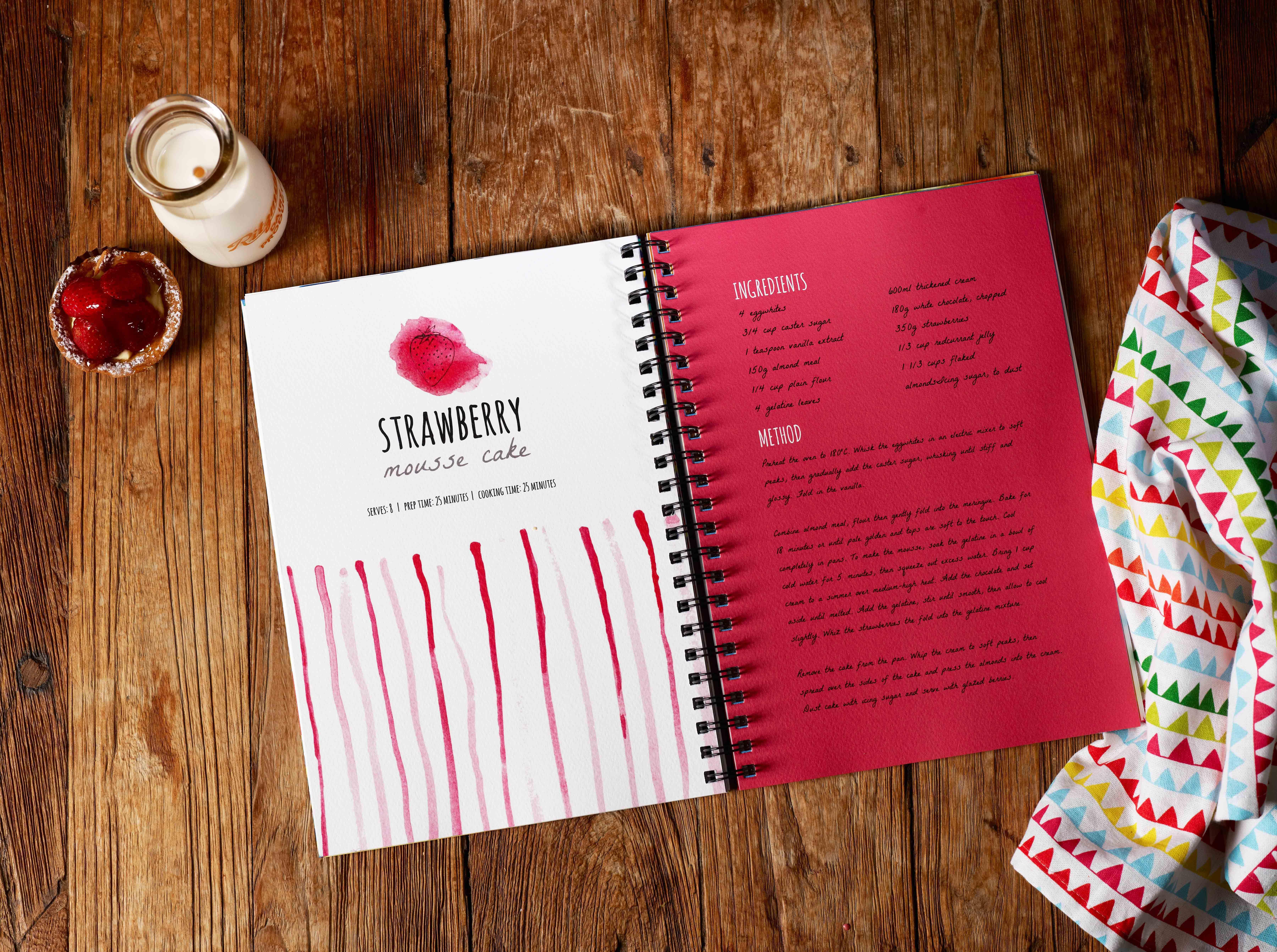 Customised Recipe Books It S A Dream Come True For