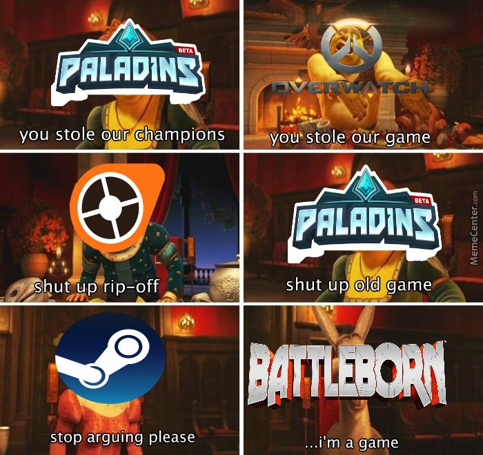 The Hero Shooter Rivalries In A Nutshell With Images Funny