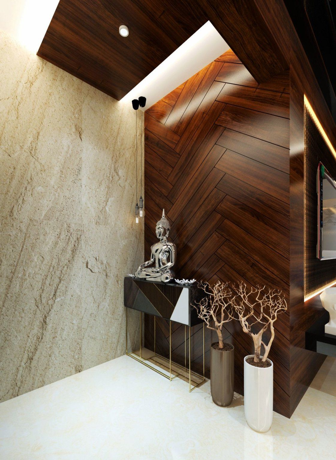 45 Best Interior Wall Design Ideas To Beautify Your Home Engineering Discoveries Interior Wall Design Foyer Design Entrance Door Design