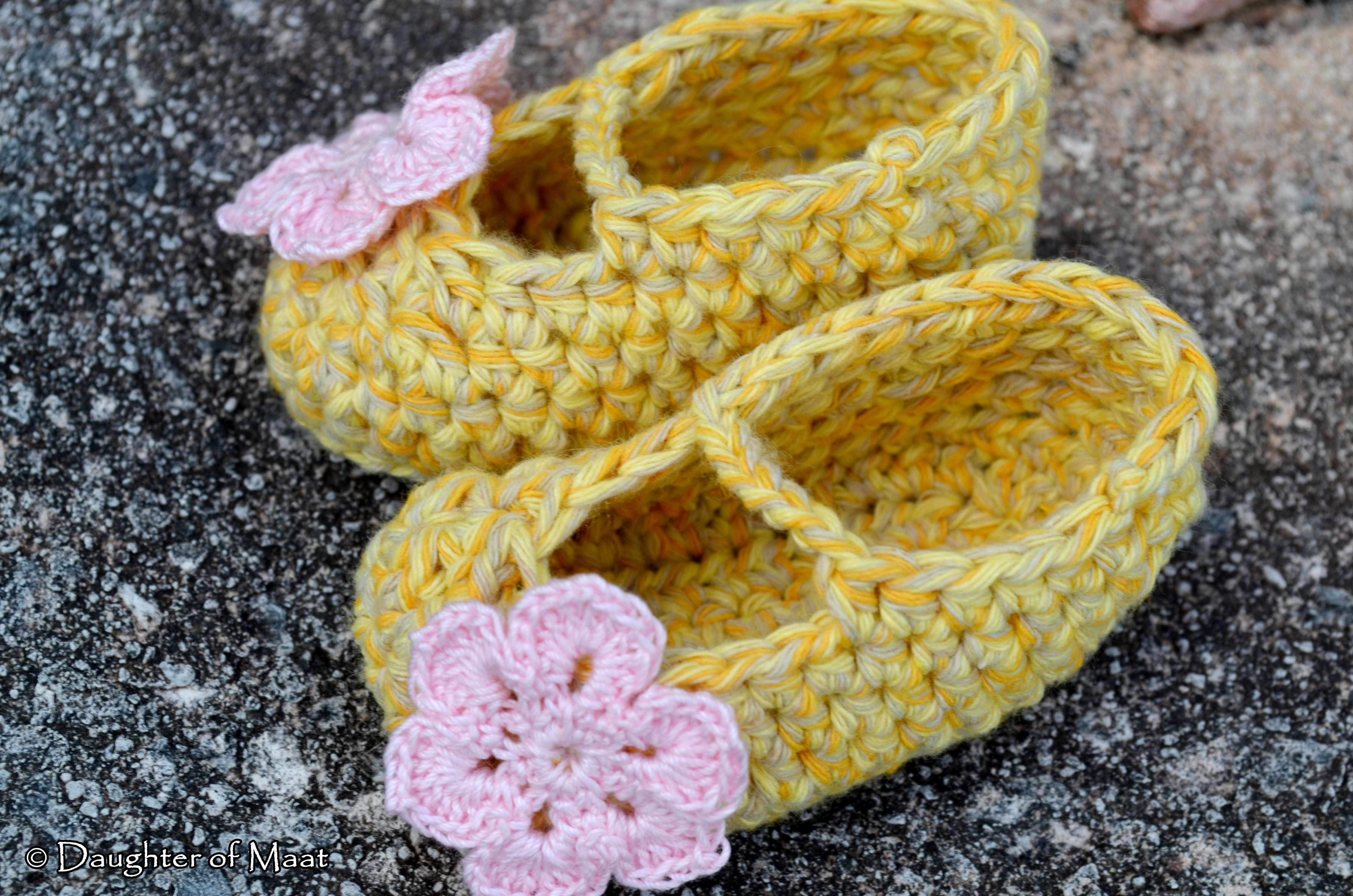 How To Crochet Baby Booties For Beginners Crocheted Baby