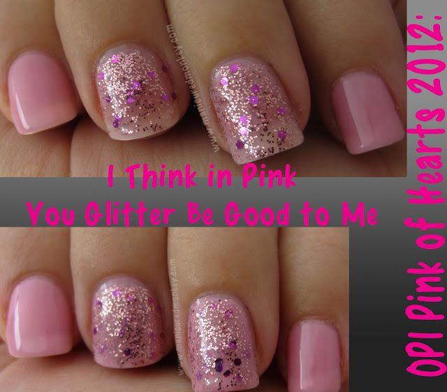 Pink of Hearts 2012 glitter sandwich