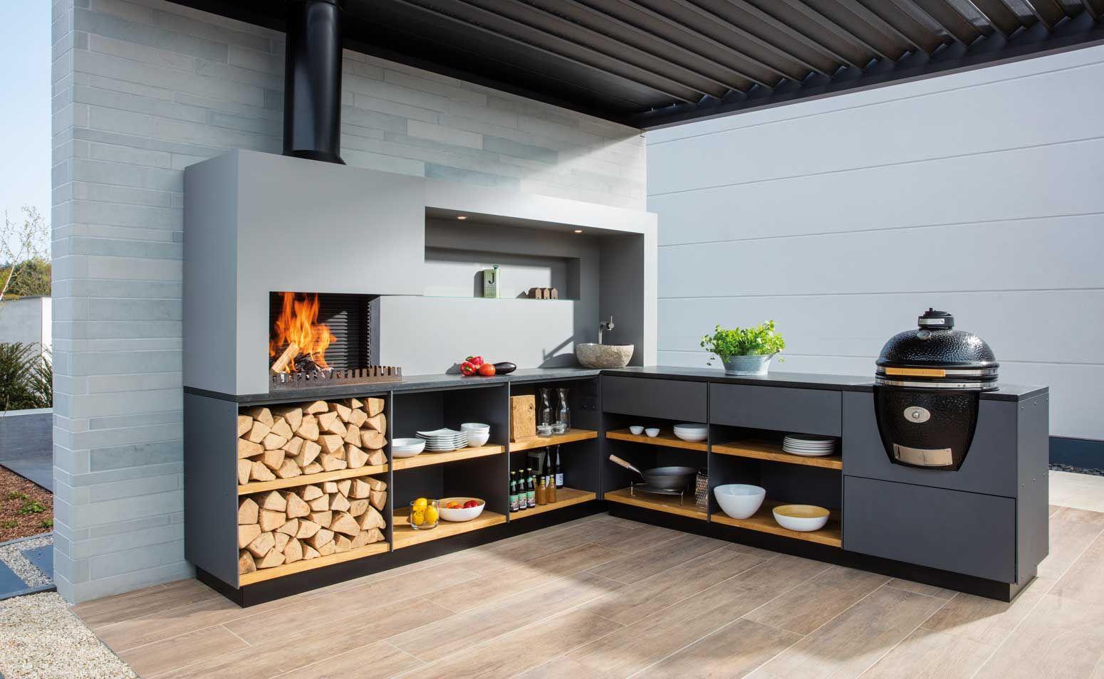Buitenkeuken freiluftküche