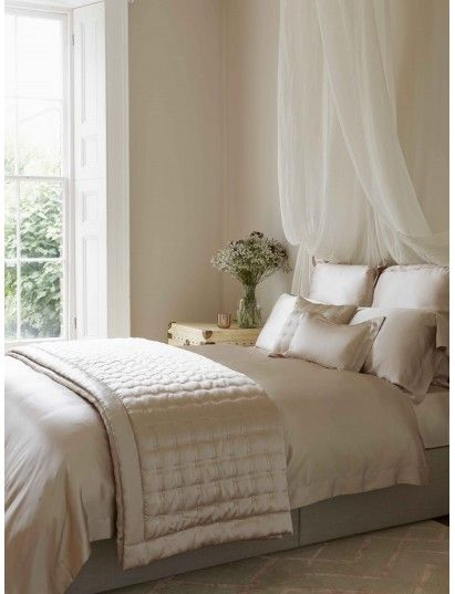Nude Silk Bed Linen - promotion 25% off
