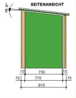 m lltonnenhaus seitenansicht m lltonnen m ll tonne und m lltonne. Black Bedroom Furniture Sets. Home Design Ideas