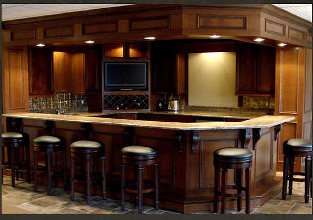 Bar In Basment...forget The Basement Make This M Y Kitchen!