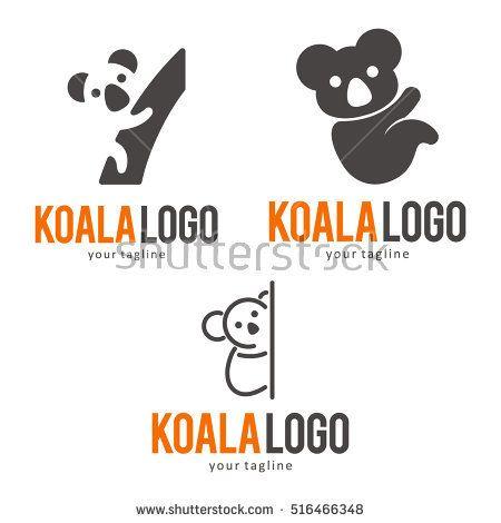 KOALA LOGO ICON SYMBOL TEMPLATE | Koalas | Pinterest | Symbols ...