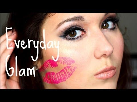 easy everyday glam  fullface makeup look with images