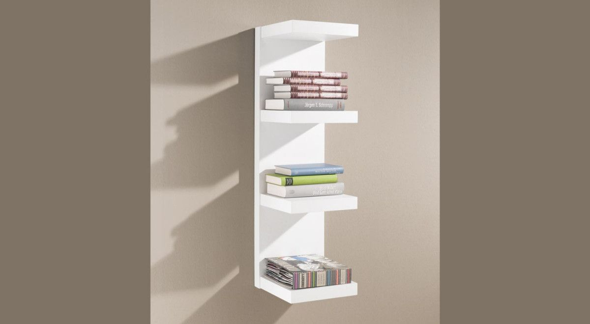 Bücher Wandregal Domino Hängeregal Dekoration Shelves Bookcase Und Decor