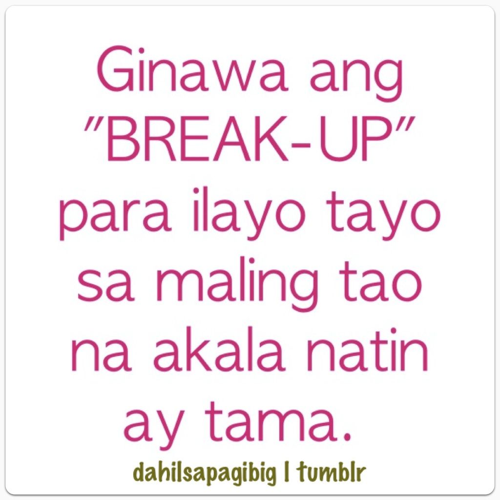 Sad love quotes tagalog text messages