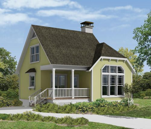H040 0028 The Haverhill Bungalow Style House Plans Vacation House Plans Cottage House Plans