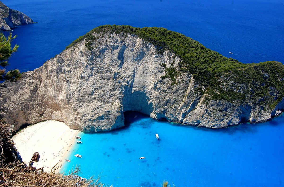 Navagio Beach, Zakynthos, Greece | Read travel stories: http://scarletscribs.wordpress.com/