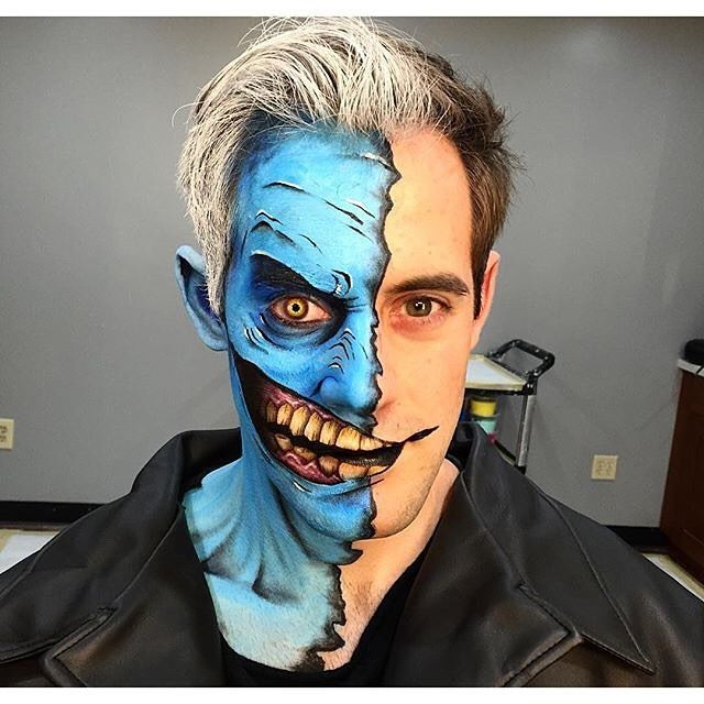 WOW! The makeup dude and pop culture aficionado in me is in awe - pop culture halloween ideas